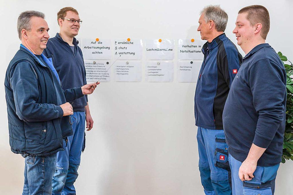 Sicherheitsseminare DGUV bei Elektrotechnik Beckhäuser
