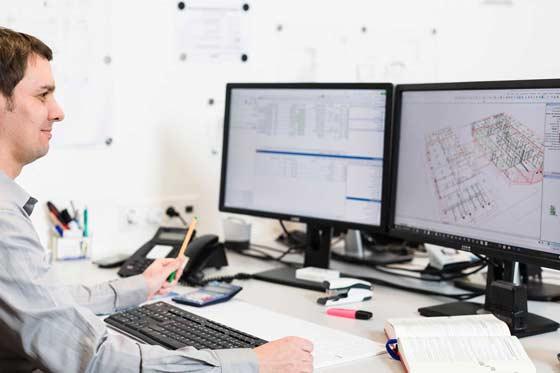 Industrie Elektrik mit CAD-Planung